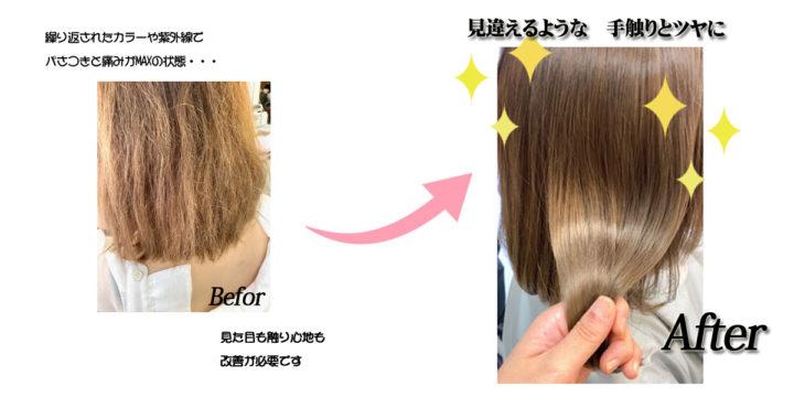 髪質改善【サイエンスアクア】最新トリートメント!の画像