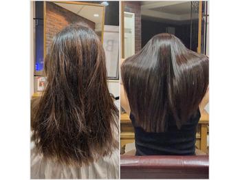 30代:髪が多く広がる