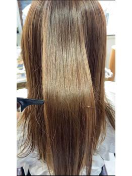 ⑦美しく理想の髪に!!