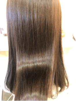 気分を上げるツヤ髪カラーの画像