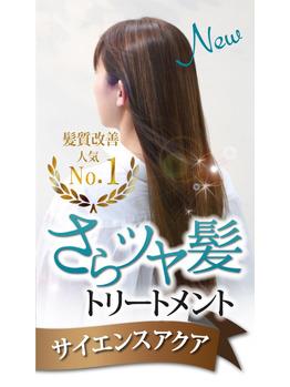 さらツヤ髪トリートメント☆サイエンスアクアの画像